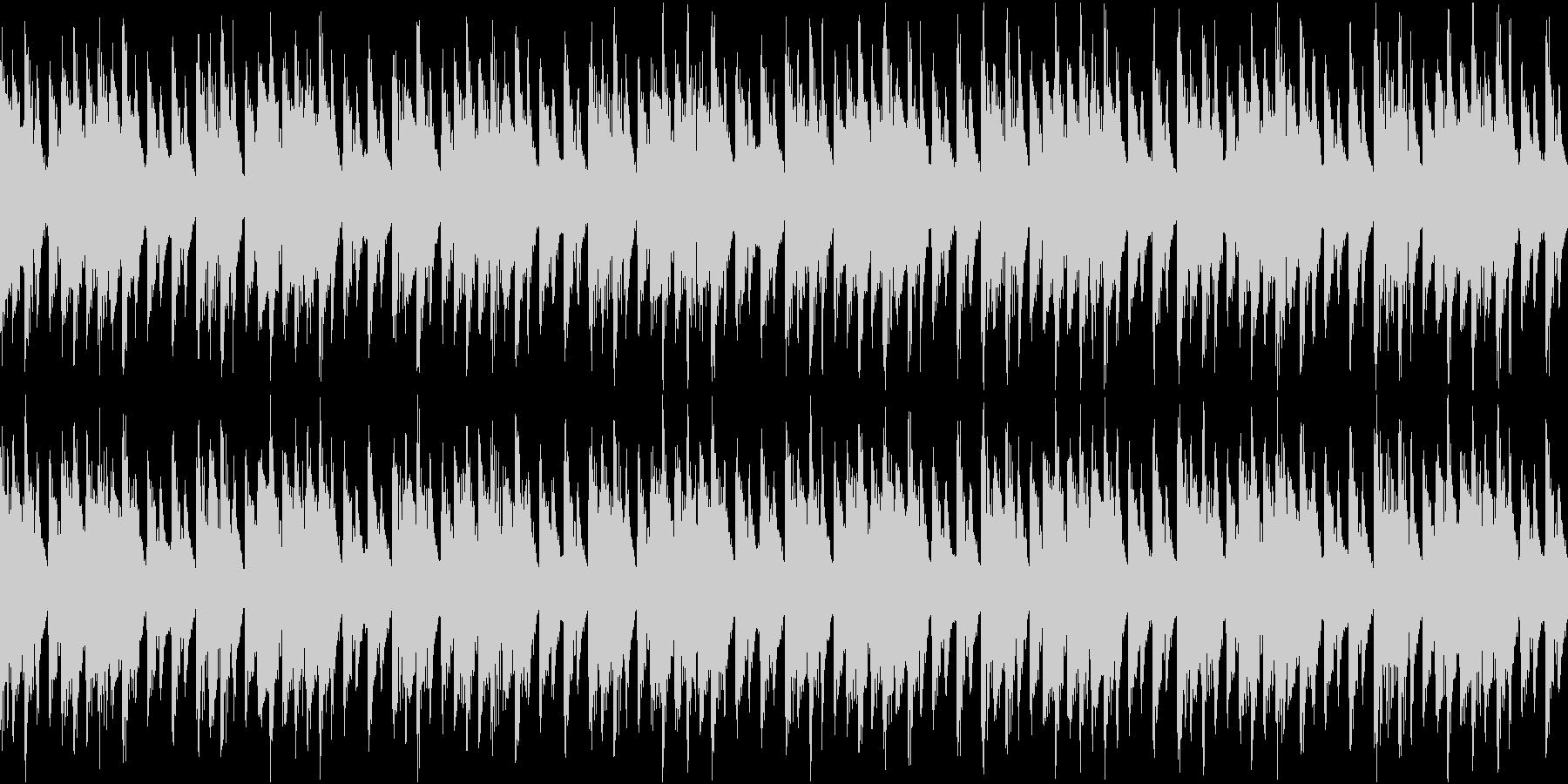 ファンキーなテック/ハウスは、ポジ...の未再生の波形