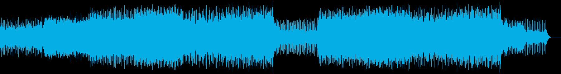 優しくわくわくするBGMですの再生済みの波形