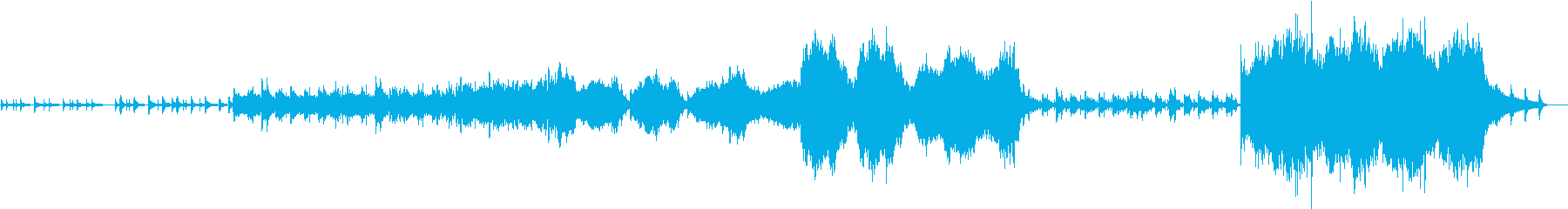 壮大なオーケストラのアンダースコア...の再生済みの波形
