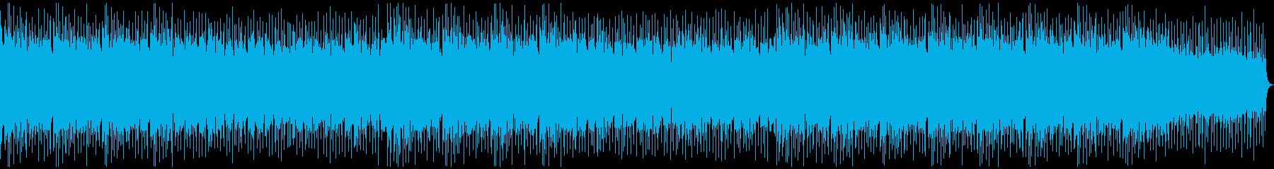 エンディングに 疾走感のあるロックの再生済みの波形