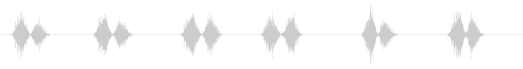 PC マウス ムーブ02-05(ハード)の未再生の波形