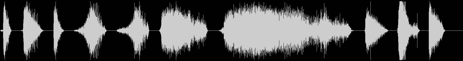 モンスターブレスロア26-36の未再生の波形