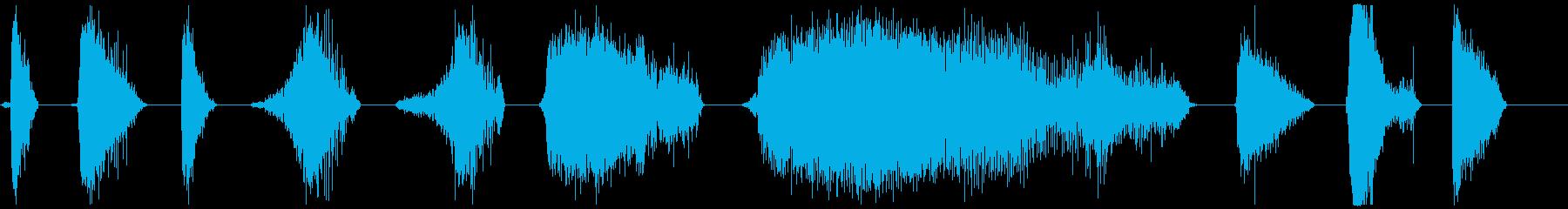 モンスターブレスロア26-36の再生済みの波形