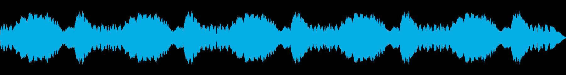 サイレン、スロー、ファイヤートラッ...の再生済みの波形
