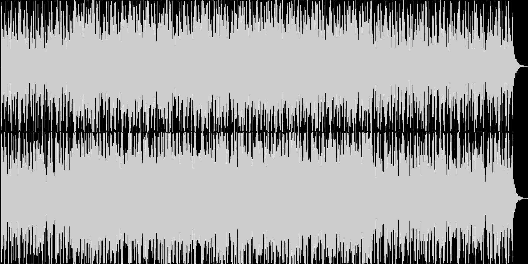 民族楽器を使用したフィールドBGMの未再生の波形