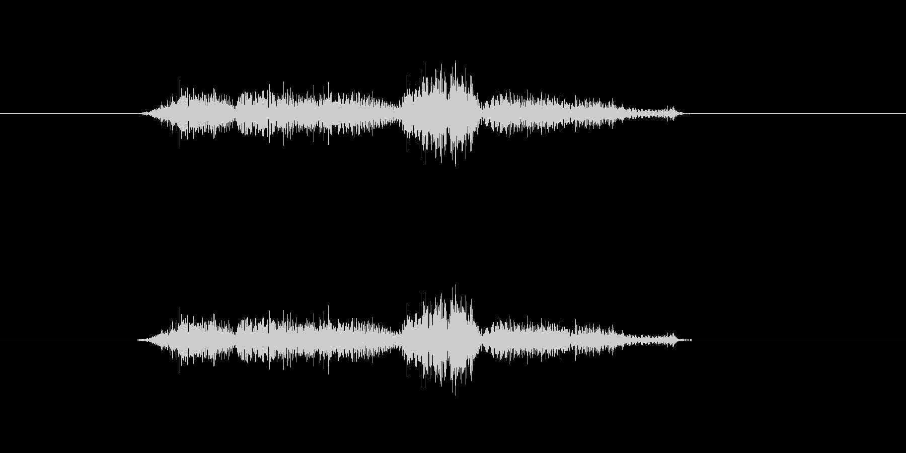 シハシハの未再生の波形