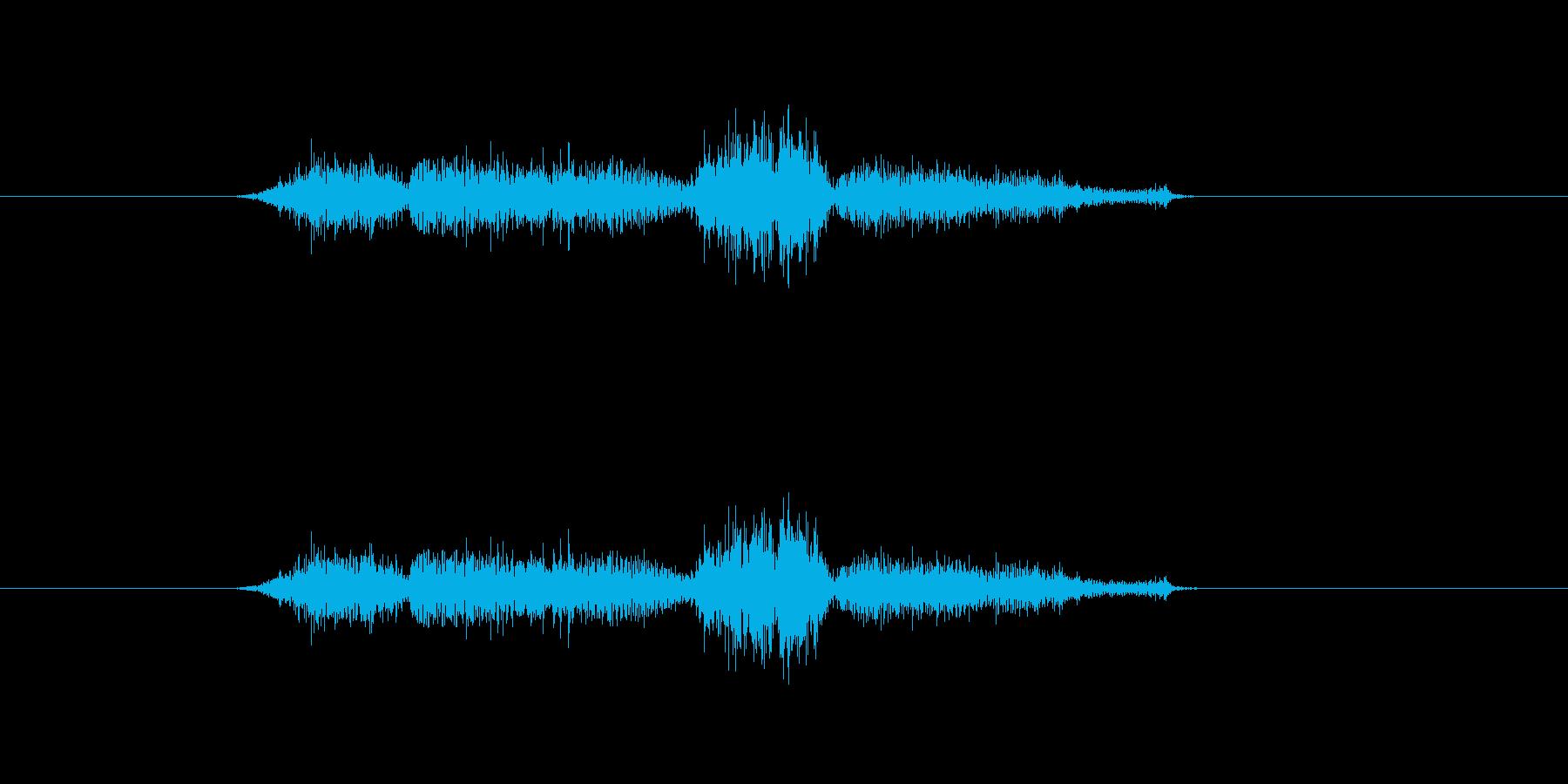 シハシハの再生済みの波形