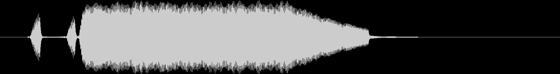 テッテレー リコーダー音のほのぼの系の未再生の波形