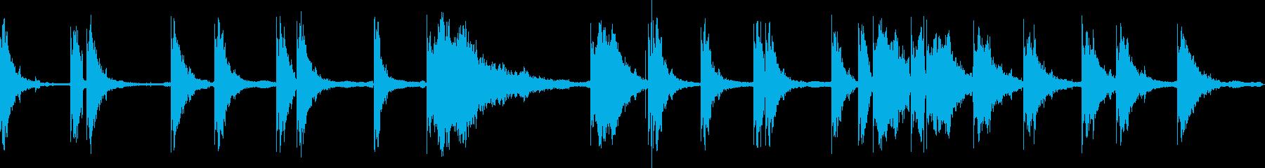 レーザーショット共鳴アーケードの再生済みの波形