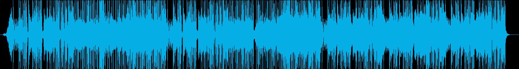 低音が効いたソウルフルなギターインストの再生済みの波形