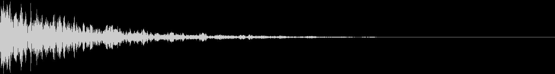 ドーン-31-2(インパクト音)の未再生の波形