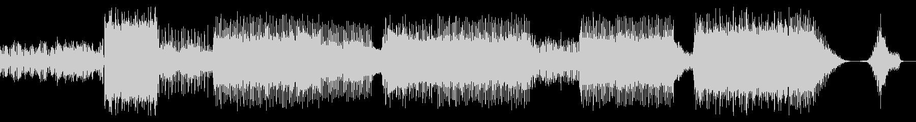 シンセサウンドゆらゆらポップスBGMの未再生の波形
