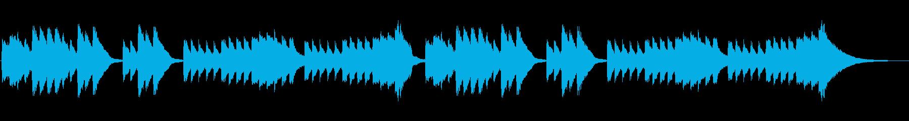 主旋律メインの再生済みの波形