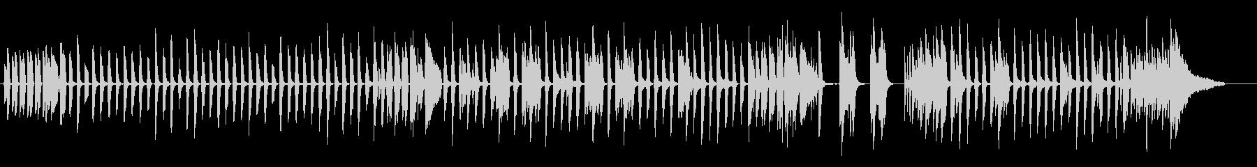 ロックン・ロールの序章の未再生の波形