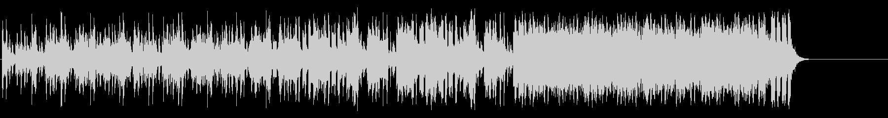 軽妙なファンク ポップ(A~B~サビ…)の未再生の波形