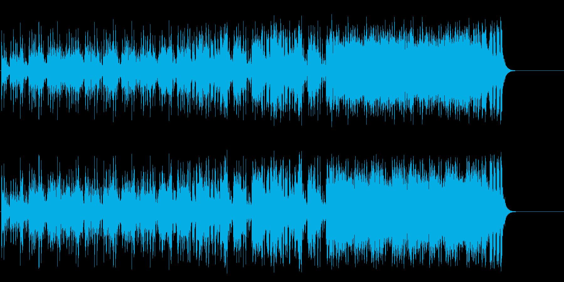 軽妙なファンク ポップ(A~B~サビ…)の再生済みの波形