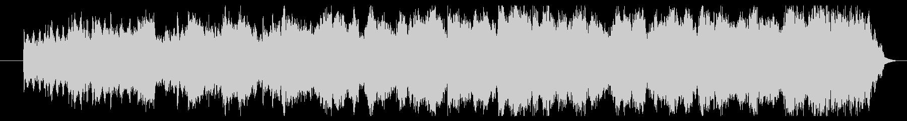篠笛のメロディー 和洋折中なインストの未再生の波形