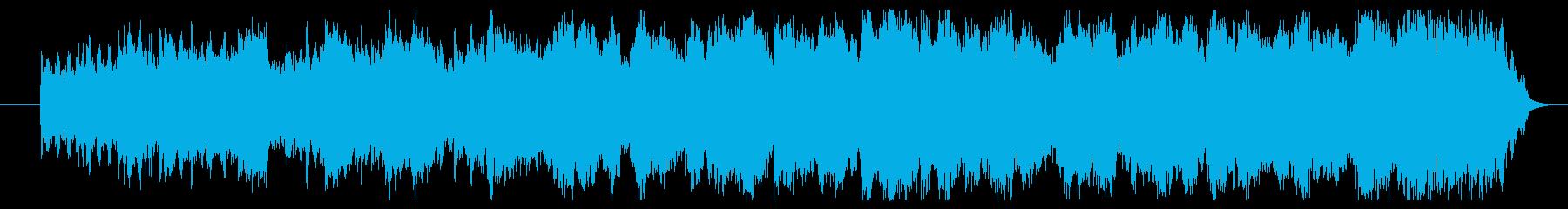 篠笛のメロディー 和洋折中なインストの再生済みの波形