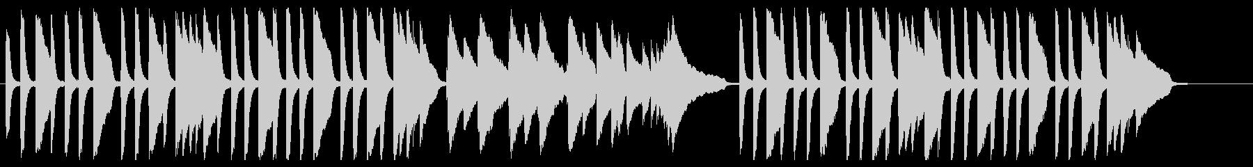 アマリリス ピアノver.の未再生の波形