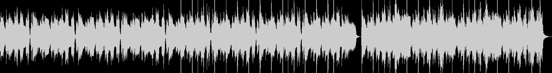 シュール コミカル ギター カッティングの未再生の波形