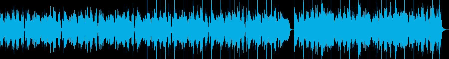 シュール コミカル ギター カッティングの再生済みの波形