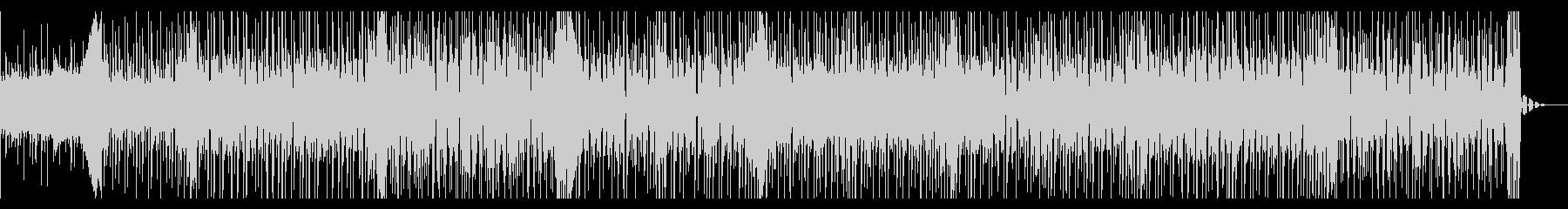 優しいカワイイ系のBGMの未再生の波形