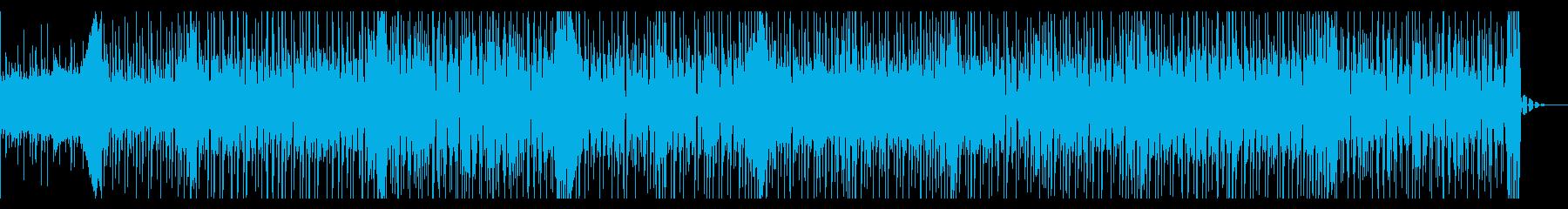 優しいカワイイ系のBGMの再生済みの波形