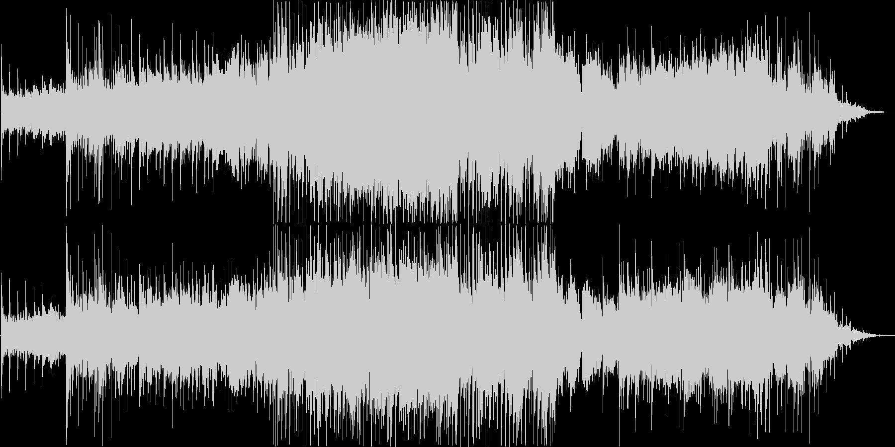 シェナンドー(アメリカ民謡)のアレンジの未再生の波形