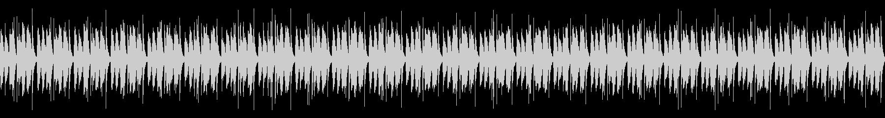 [和太鼓二重奏]盆踊りの大太鼓03の未再生の波形