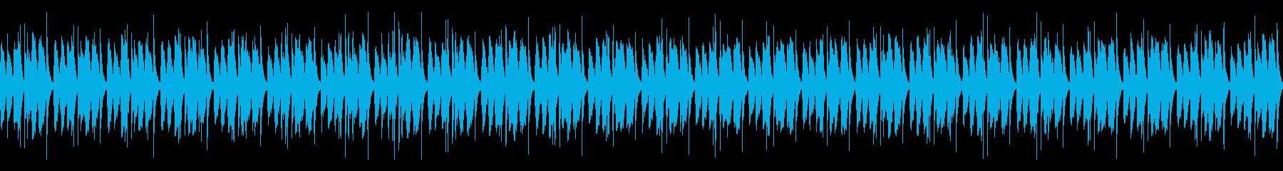 [和太鼓二重奏]盆踊りの大太鼓03の再生済みの波形