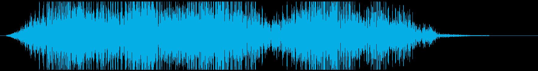 ヘビーパルステキストの再生済みの波形
