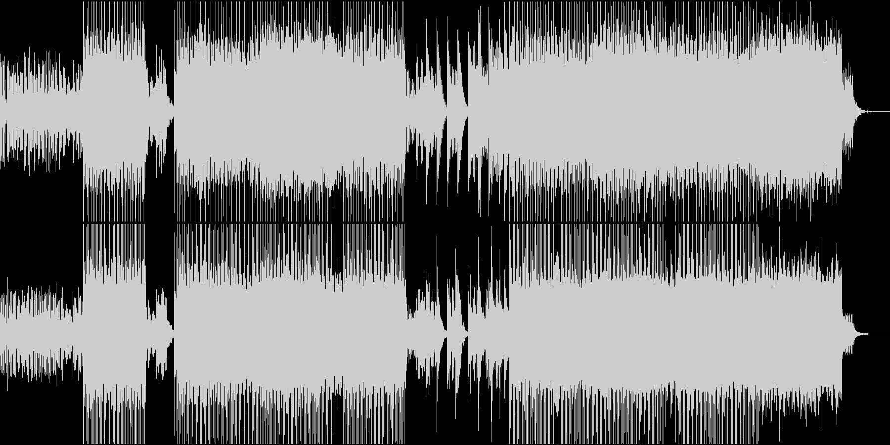 R&B,Neo Soulの未再生の波形