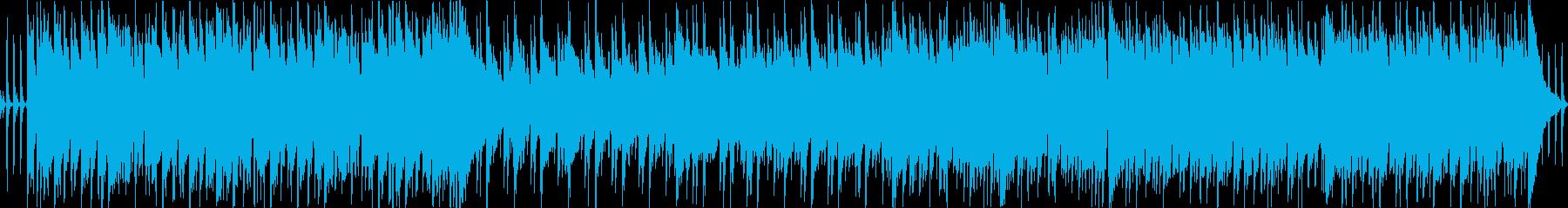 エレクトリックピアノのあるバー風BGMの再生済みの波形