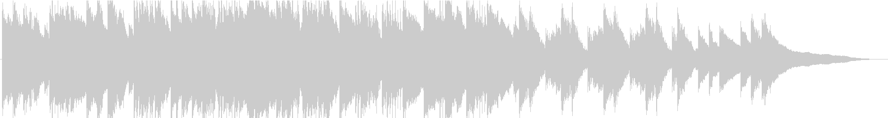 忍び寄る影…クラシック調の不気味なBGMの未再生の波形