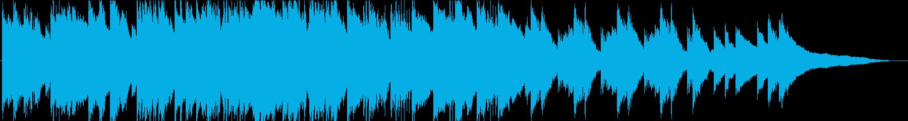 忍び寄る影…クラシック調の不気味なBGMの再生済みの波形