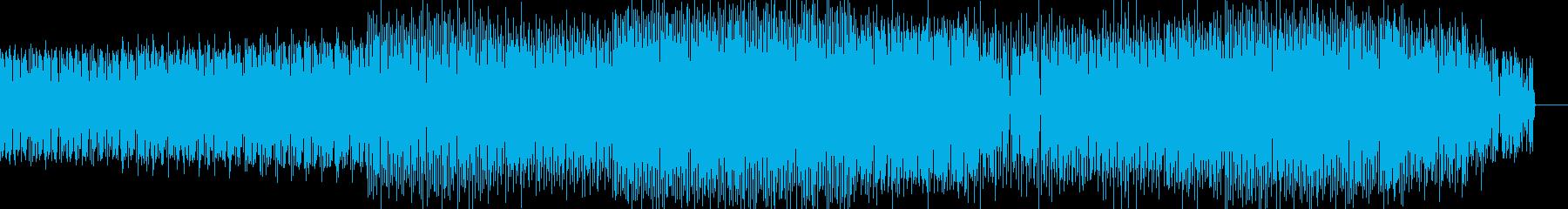 夏っぽさのあるリフ系ハウスの再生済みの波形