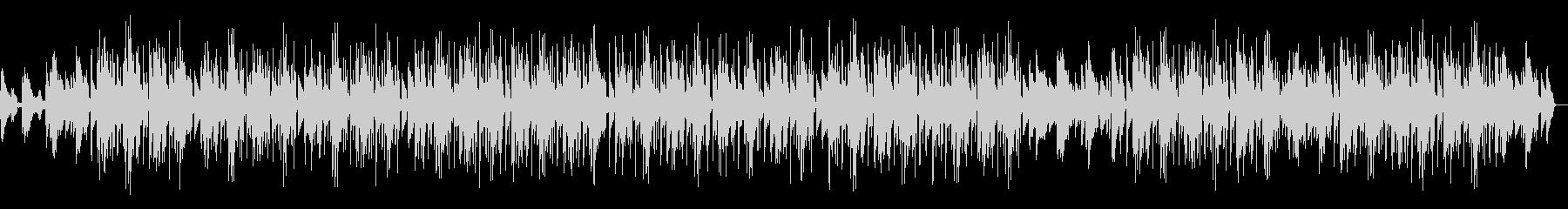 バックグラウンドミュージックの未再生の波形