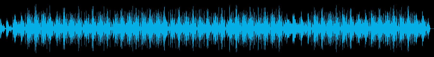バックグラウンドミュージックの再生済みの波形