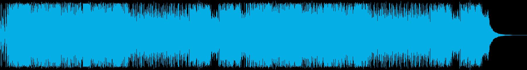 酒場をイメージしたケルト音楽の再生済みの波形