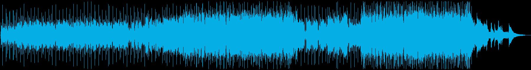 癒し系バイオリンバラードの再生済みの波形