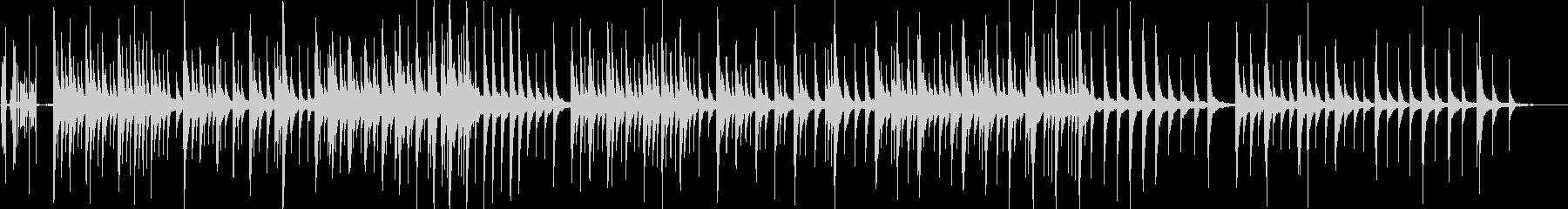 オルゴール(ねじを回してから止まるまで)の未再生の波形