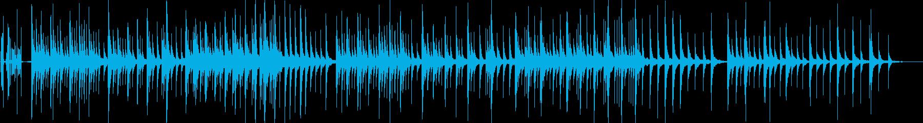オルゴール(ねじを回してから止まるまで)の再生済みの波形