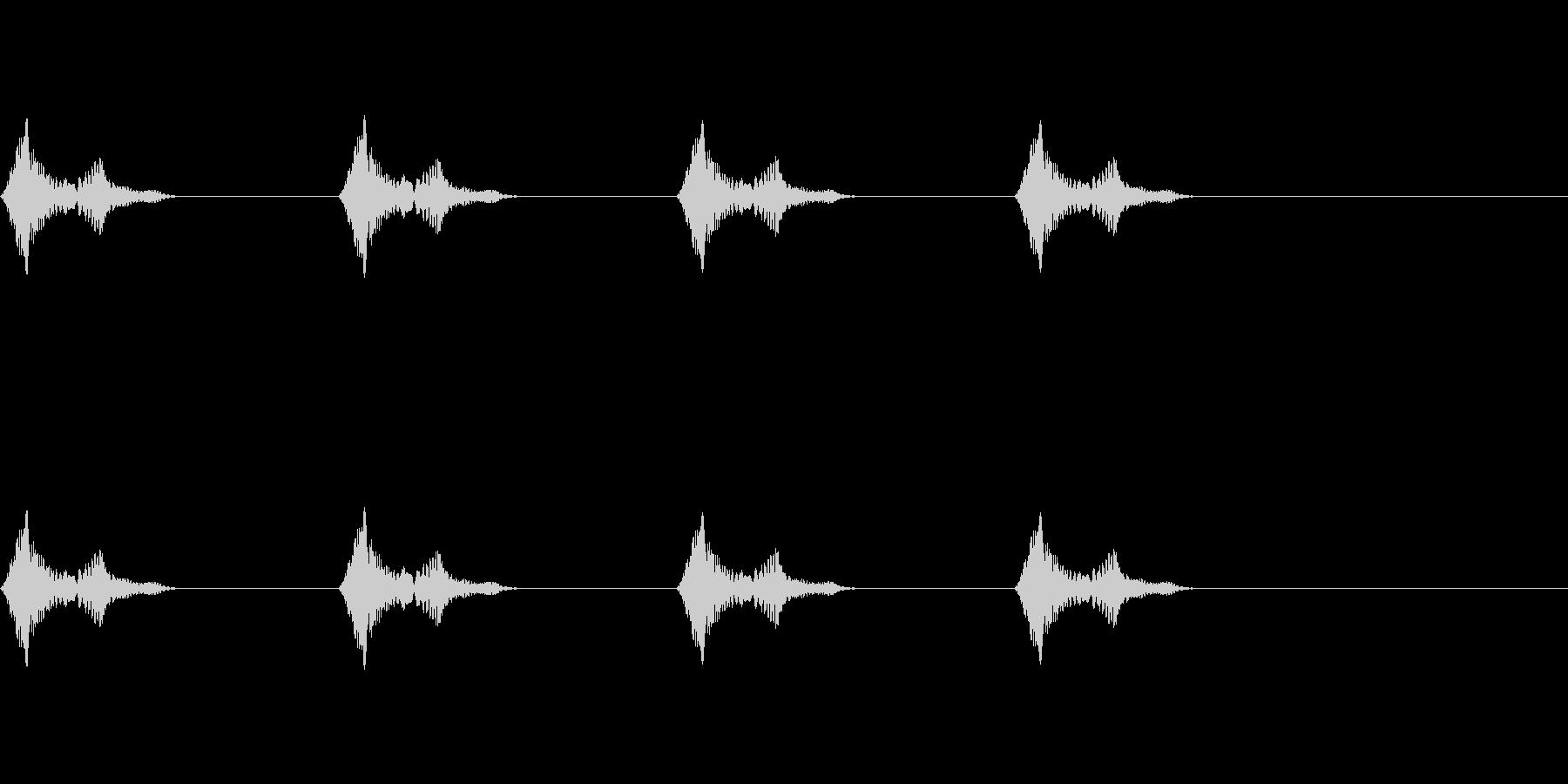 風船/バルーン/雲/ふわふわ/注入の未再生の波形