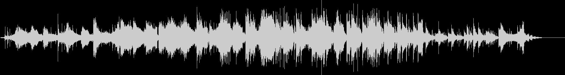 異国の風を感じるニュートラル曲GtVerの未再生の波形