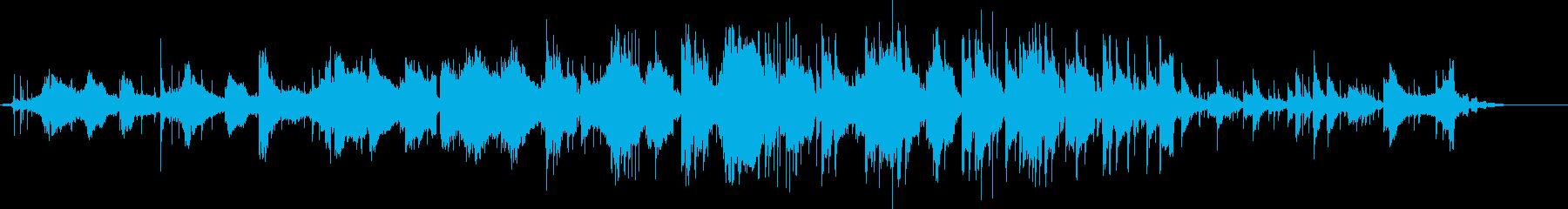 異国の風を感じるニュートラル曲GtVerの再生済みの波形