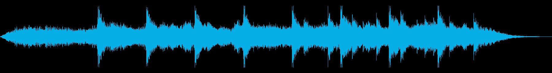 神々しいダークアンビエント(声なし)の再生済みの波形