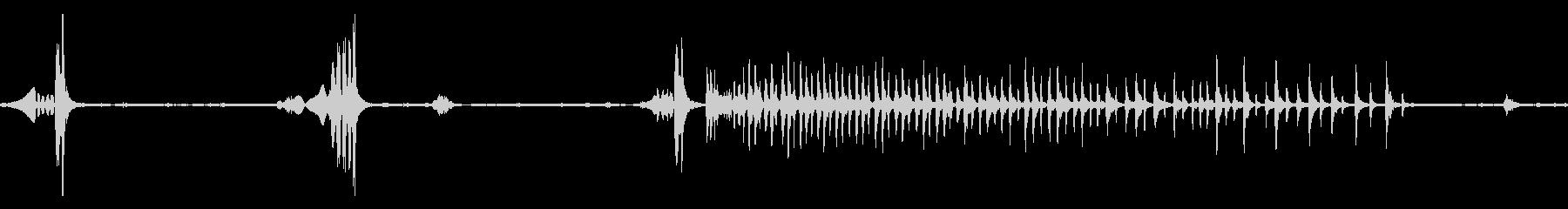 谷戸山公園_ウグイスの鳴き声(ループ)の未再生の波形