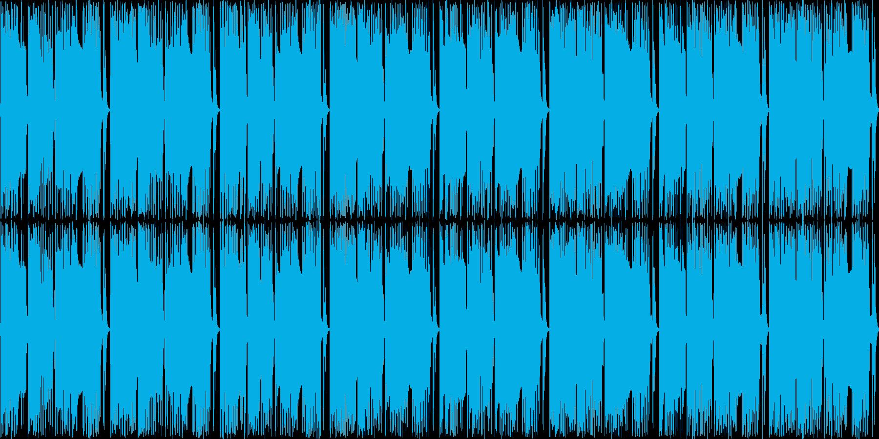 ほぼリズムだけですの再生済みの波形