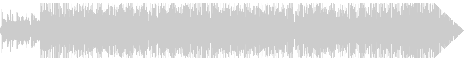 南米風ポップインストの未再生の波形