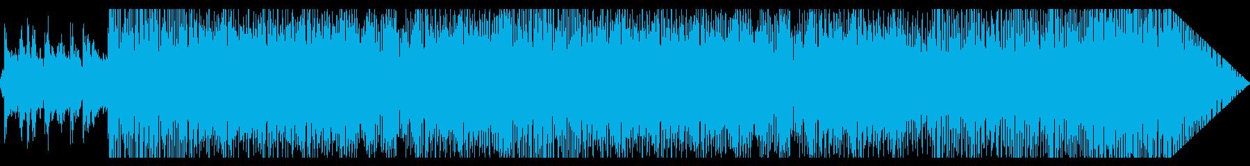 南米風ポップインストの再生済みの波形